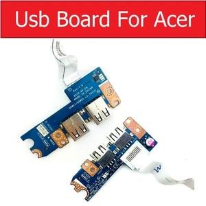 LS-7911P LS-8331P USB Board Socket For Acer Aspire V3-551G V3-571G V3-531G E1-521 E1-531 E1-571 5750 5750g P253-E Q5WV1 Q5WS1(China)