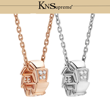Bulgaria necklace set 1:1 Original 100% 925 Sterling Silver Women Free Shipping Jewelry High-end Quality Gift Have logo цена 2017