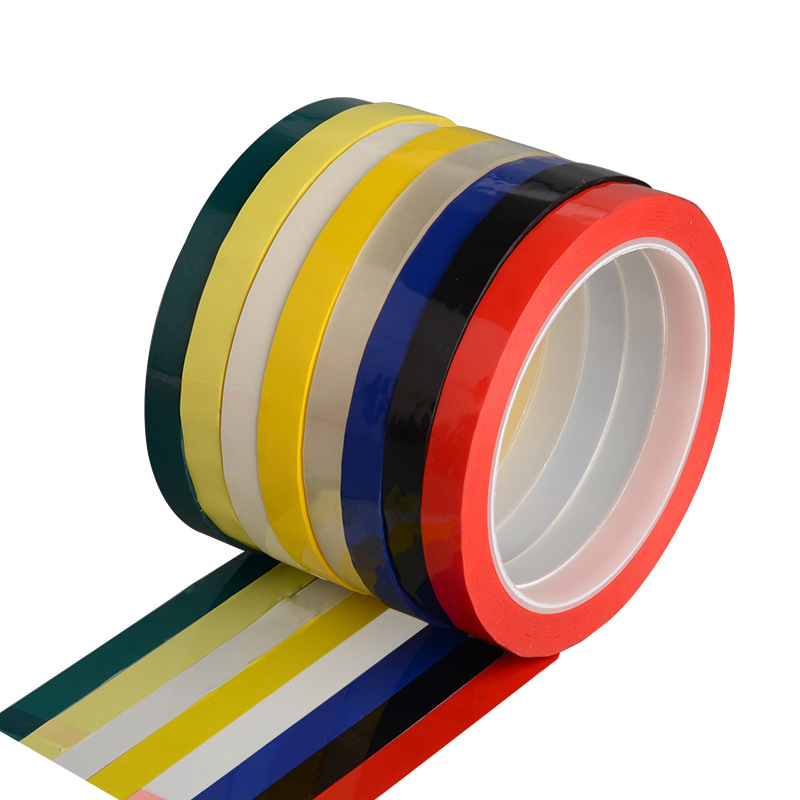 Vacclo 5S Desktop Positioning Tape 50M Marking Tape Whiteboard Color Discrimination Warning Grid Line Adhesive Tape Supply