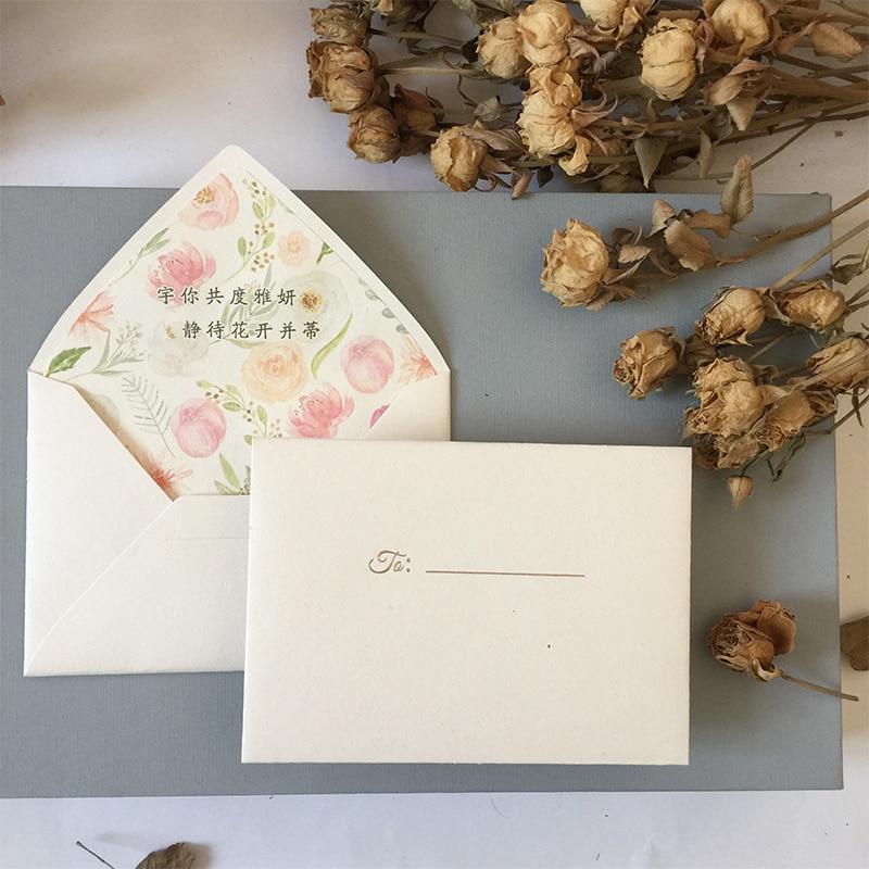 Vintage Western Envelope Beige Earth Paper Envelope Wedding Invitation Printing Lined Envelope Custom Envelope