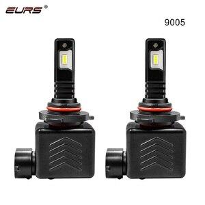 Image 3 - EURS 9S LED Lamp 12000LM H11 H1 H4 H7 LED Canbus No Error Car Headlight Bulbs 60W 6500K 9005 HB3 9006 HB4 H8 Auto Fog Lights 12V