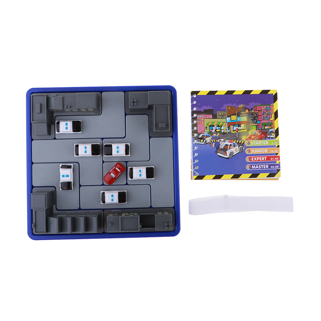 Children Intelligence Educational Game Puzzle Maze Police and Thief Game Toy image