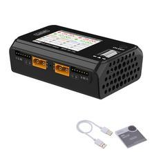 ToolkitRC-MINI cargador inteligente M6D, 2021 W, 15A, CC, doble canal, descargador para batería Lipo 1-6S, modelo FPV, repuesto, M8, 500