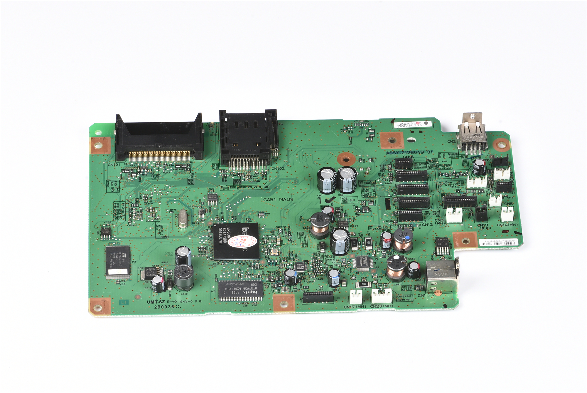 Formatter Board logic Main Board mother board for Epson TX650 PX650 EP 702A printer MainBoard Printer Parts     - title=