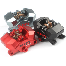 Universal Motorcycle Rear CNC RPM brake Caliper brake pump under the double  small crabs calipers power 34mm piston
