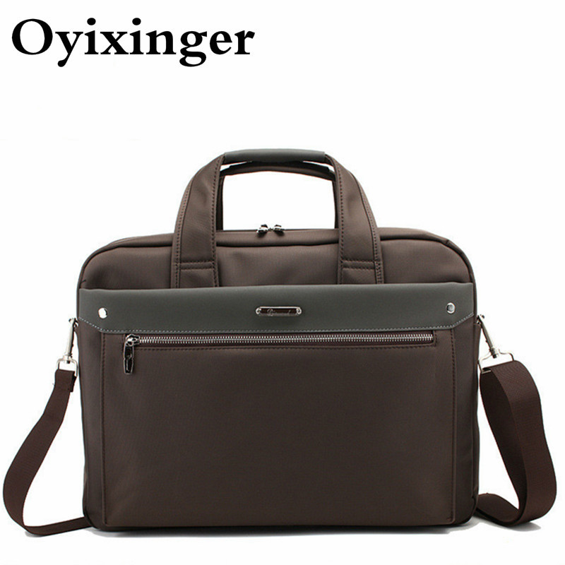 Briefcase Men's Laptop Men Business Bags Women 15.6 Inch Laptop Briefcase Bag Handbag Mens Briefcases Shoulder Crossbody Bags