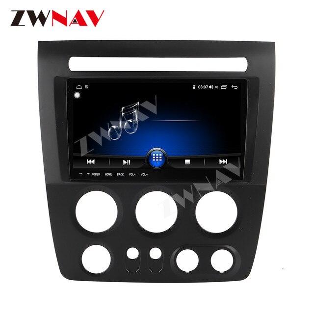 Octa Core dello schermo di Tocco di 4 + 64G Android Lettore Multimediale 9.0 Dellautomobile Per Hummer H3 2005-2010 auto GPS Audio Radio stereo Wifi unità di testa