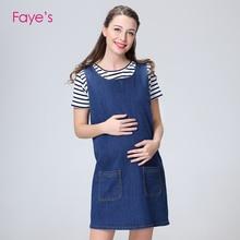 Maternity Dresses Pragnacy Denim Dungaree Clothes For Pregnant Women Clothing