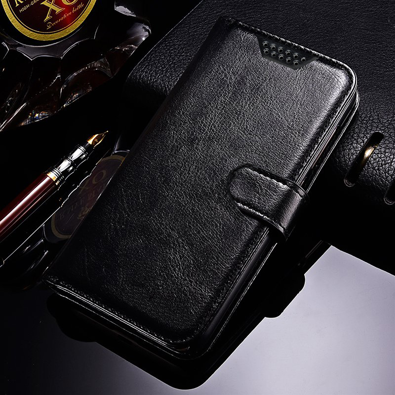 Flip Leather Case for <font><b>Alcatel</b></font> U5 HD 5047D 5047Y 4047D 5044D <font><b>5</b></font> A5 LED 5V <font><b>5086Y</b></font> 5085D 5060D Shine Lite OT 5080 Wallet Cover Case image