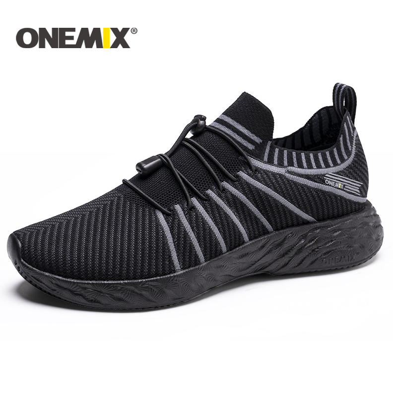 Onemix New Summer Running Shoes For Men Unisex Breathable Mesh Lightweight Sneaker Outdoor Walking Trekking Shoes Sports Sneaker
