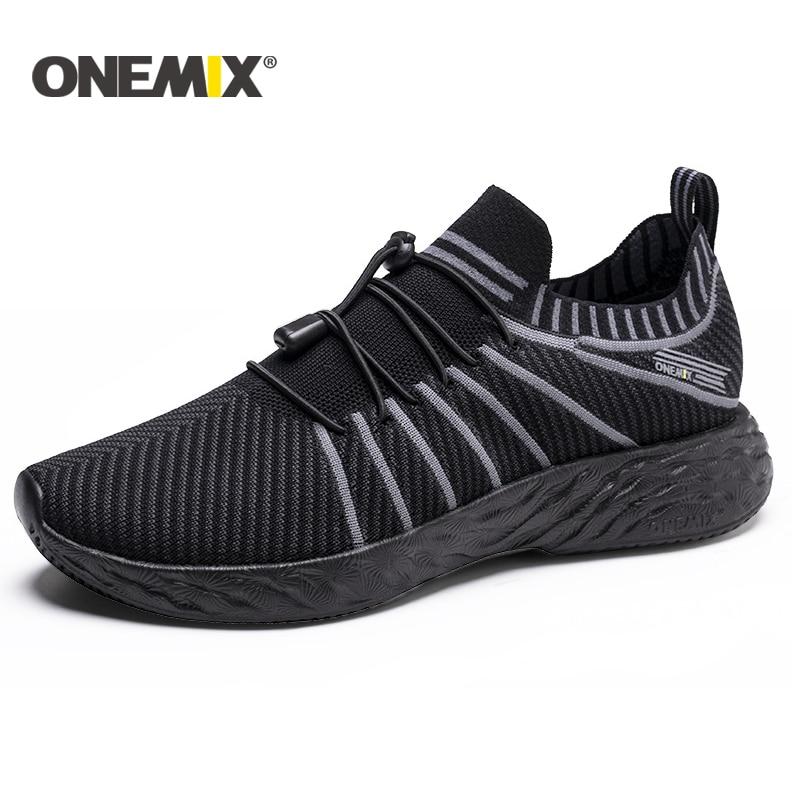 Onemix New Summer Running Shoes For Men Unisex Breathable Mesh Lightweight Sneaker Outdoor Walking Trekking Shoes Sports Sneaker