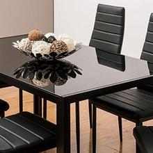 Fabric Chairs Furniture Dining-Room Half-Pu-Leather Nordic-Style Durable Modern Home-Bar