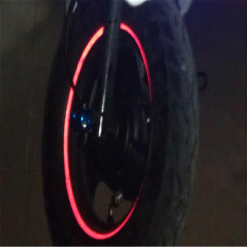 """16 sztuk 10 """"Motocross akcesoria motocyklowe naklejki koła odblaskowe naklejka Rim taśmy Car Styling dla YAMAHA HONDA Harley BMW TSLM2"""