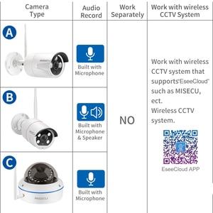 Image 2 - MISECU 1080P Audio Wireless IP Camera 2MP CAMERA CCTV for Wireless CCTV Camera System APP EseeCloud or IP Pro