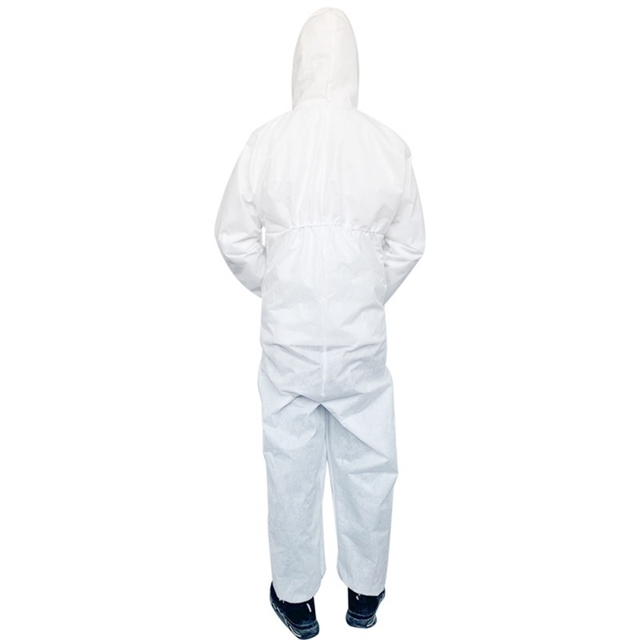 PPE Clothing  Anti-bite Anti-virus Garden Clothing Suit Outdoor Work Protection Anti Saliva Splash Plegable Cloth With Hard Hat 1