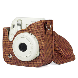 Image 3 - NEW Fujifilm Instax Mini Camera Case Bag PU Leather Cover with Shoulder Strap for Instax Mini 9 8 8+ Instant Film Cameras Case
