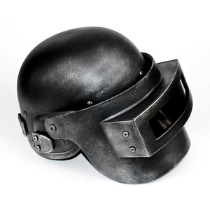 Image 3 - PUBG Cosplay Chicken Dinner Level 3 Helmet Playerunknowns Battlegrounds Third class Head Cap Face Cosplay Role Play Game Props