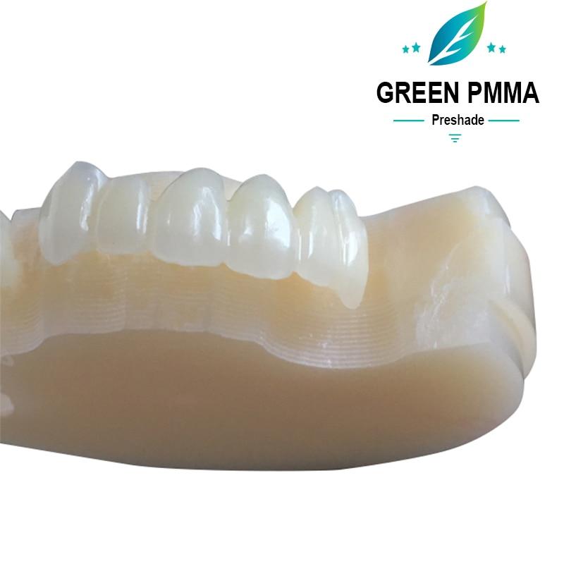 o material dental do poliuretano 98mm cad 04