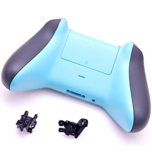 Image 4 - Original FULL SHELL Housing Replacement + LBRB Thumbstick Buttons for Xbox One Controller 1708 Grey/Blue Phantom Special Edition