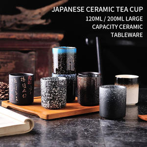 Teacup Drinkware Ceramic Pottery Japanese-Style Water-Cup Kungfu Hand-Painted 120/200ml