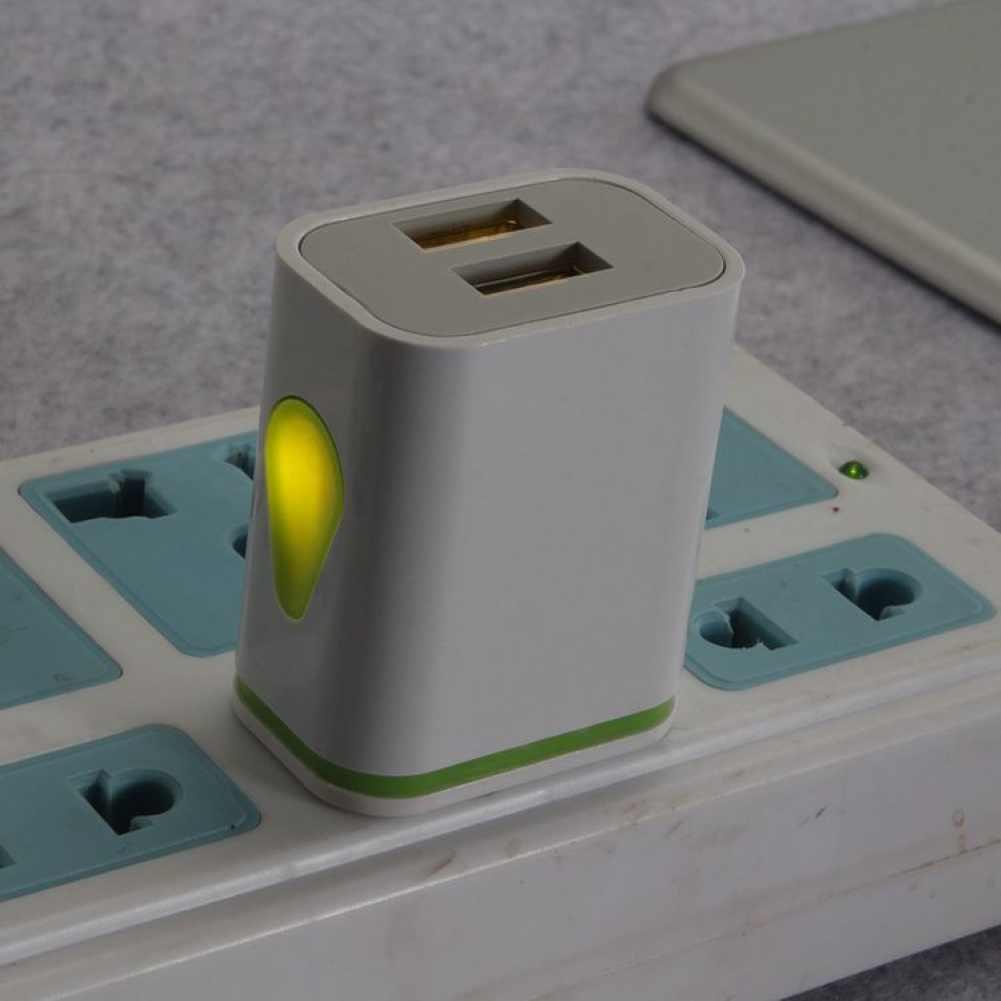 Evrensel taşınabilir 5V 2.1A çift alt bağlantı noktası duvar Plug-in AC şarj güç adaptörü USB şarj aleti hızlı şarj şarj быстрая зарядка