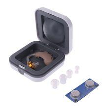 V-185 BTE Digital Hearing Aid Adjustable Ear Analogue Sound Amplifier Ear Care