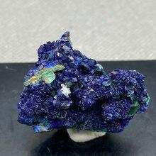 Natural azul mineral cristal da província de anhui, china.