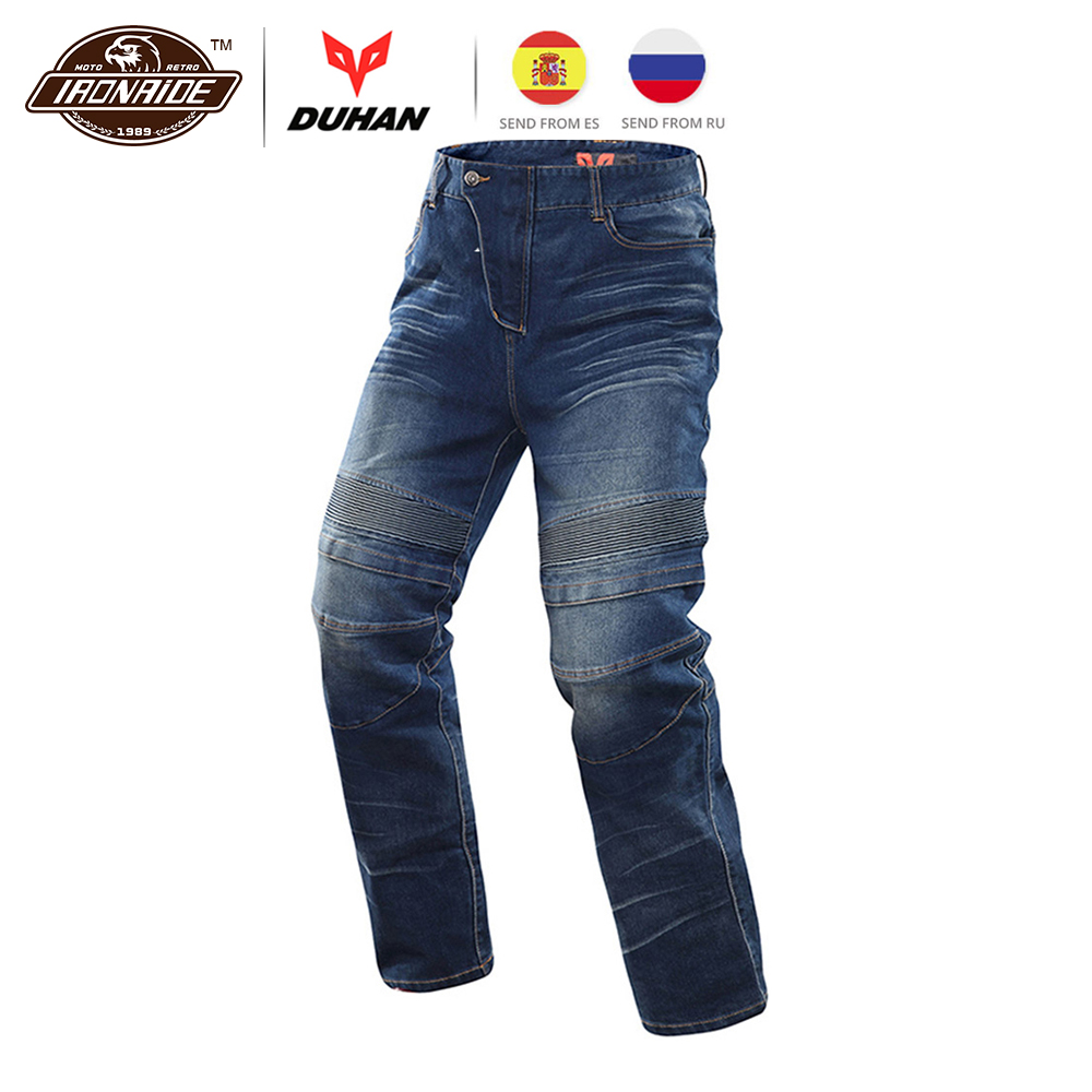 DUHAN Motorcycle Jeans Motocross Moto Pants Motorcycle Pants Protective Gear Jeans Trousers CE Certification Protectors for Men moto pants pants motorcyclemotorcycle pants - title=