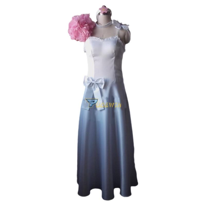 Anime Fairy Tail Elza Scarlet  Dress Cosplay Costume