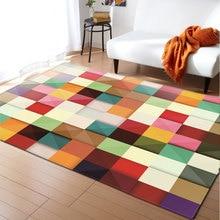 3D Carpets Living Room Decoration Bedroom Parlor Tea Table Area Rug Mat Soft Flannel Large Rug and Carpet