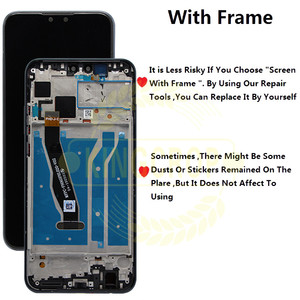 Image 2 - Y92019 ekran + dokunmatik ekran Digitizer meclisi için Huawei Y9 2019 LCD için çerçeve ile huawei 9 artı JKM LX1 JKM LX2 JKM LX3