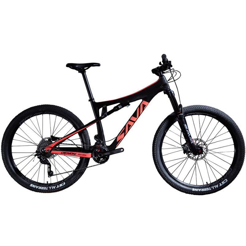 SAVA Full Suspension Mountain Bike 27.5 Inch Downhill Bike AM/ DH Bike Dual Suspension Mtb With 140mm Fork + 63mm Rear Shock