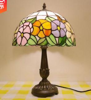 Новое поступление Модная деревенская Тиффани настольная лампа для спальни прикроватная гостиная для спальни