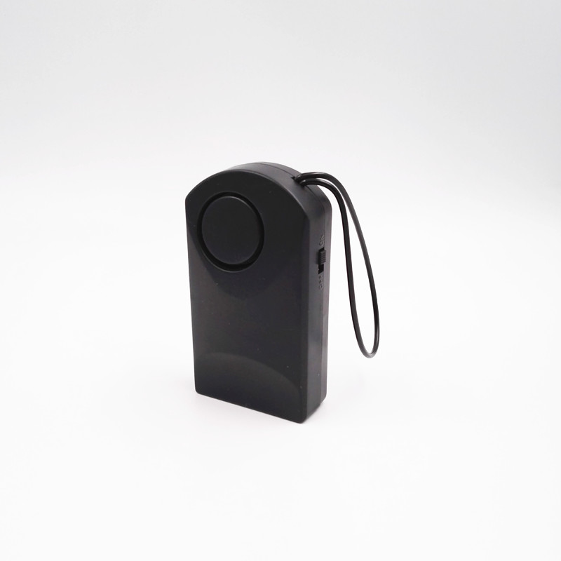 Segurança hotel independente detector de segurança sirene portátil porta janela sensor de porta maçaneta da porta alarme sem fio toque 120 db anti-roubo