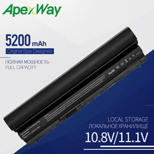 Buy Apexway 5200 mAh 6 Cells RFJMW Laptop Battery For DELL Latitude E6320 E6330 E6220 E6230 E6120 FRR0G KJ321 K4CP5 J79X4 7FF1K FHHV directly from merchant!