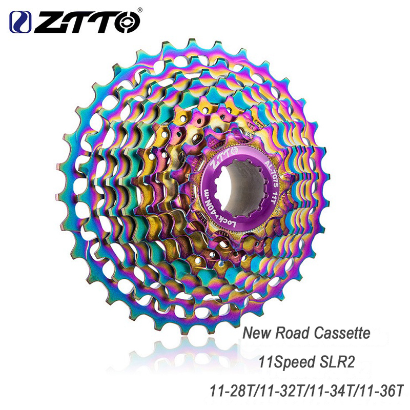 ZTTO Ultralight Road Bike <font><b>11</b></font> Speed SLR2 <font><b>Cassette</b></font> <font><b>11</b></font>-28/32/<font><b>34</b></font>/36T Bike bicycle freewheel Road Bicycle parts 22S <font><b>Cassette</b></font> Sprocket image