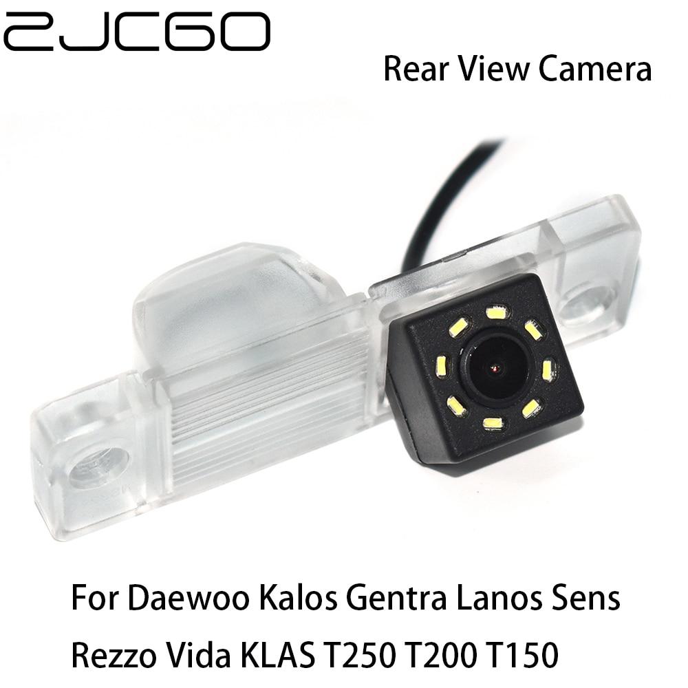 ZJCGO Car Rear View Reverse Back Up Parking Waterproof Camera For Daewoo Kalos Gentra Lanos Sens Rezzo Vida KLAS T250 T200 T150
