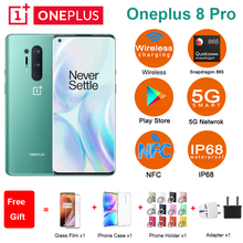 Global ROM Oneplus 8 pro 5G Mobile Phone 6.78″ 8/12GB 128/256GB Snapdragon 865 Four Rear Camera 48MP 8MP 48MP 5MP Dual SIM Phone