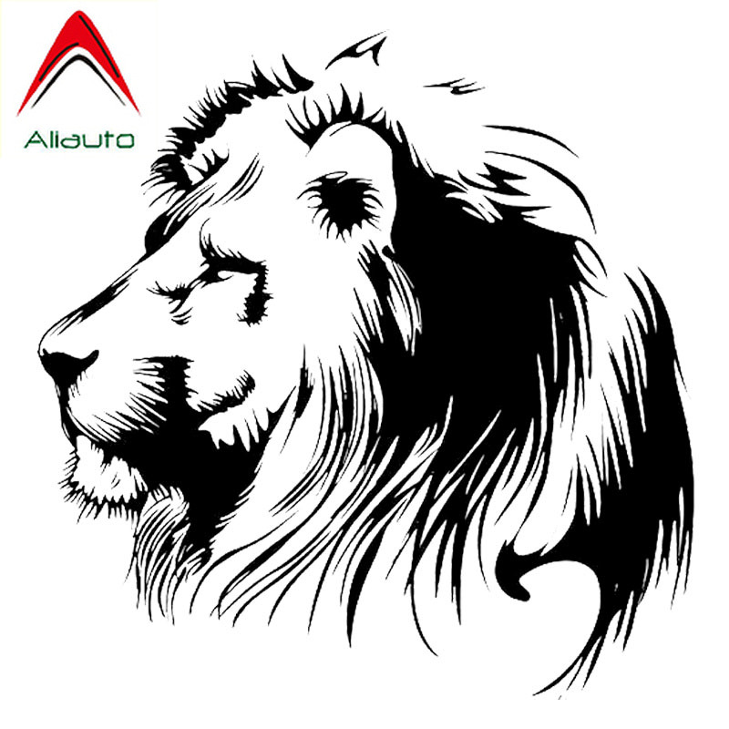 Aliauto Personality Car Sticker Meditation Lion Vinyl Motorcycle Individualization Styling Anti UV Accessories PVC Decal 19*18cm|Car Stickers| |  - title=