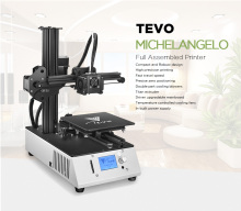 2019New TEVO Michelangelo TEVO 3D Printer Fully Assembled Printing Machine Impresora Full Aluminum Frame Titan Extruder SD Card