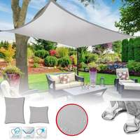4x4/6/8M Sun Shade Canopies Sails Outdoor Camping Hiking Yard Garden Shelters UV Block Top Cover Waterproof