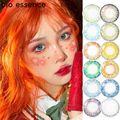 2 шт. (1 пара), контактные линзы естественного синего цвета для глаз, 3 тона контактные линзы без диоптрийного цвета без рецепта