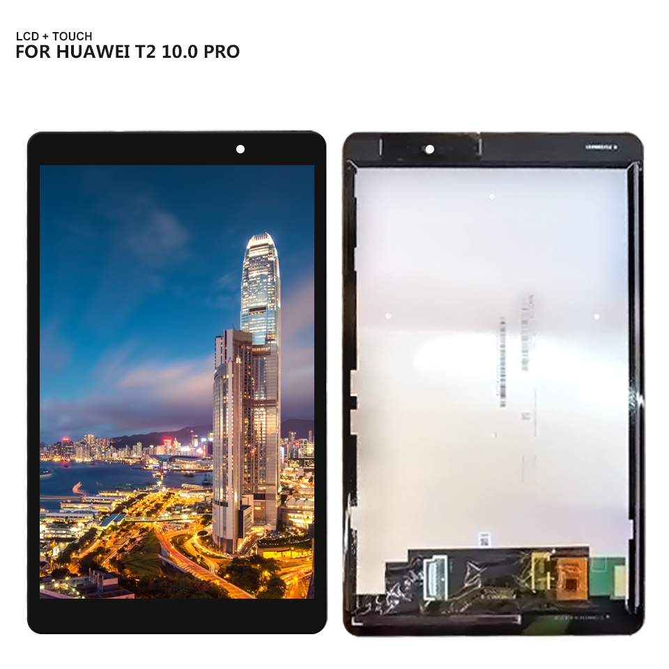 For 10.1 Huawei MediaPad T2 10.0 Pro FDR-A01L FDR-A01W FDR-A03 Full LCD Display Touch Screen Digitizer Panel Assembly image