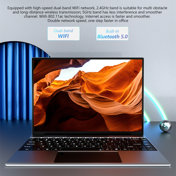KUU YOBOOK All Metal 13.5 Inch 3K IPS Screen Intel Pentium Quad Core Laptop Backlit Keyboard Windows 10 Student Office Notebook 4