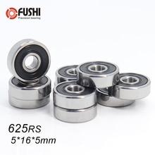 625RS подшипник ABEC-5(10 шт) 5*16*5 мм миниатюрные герметичные 625-2RS шарикоподшипники 625 2RS для VORON Mobius 2/3 3d принтер