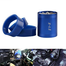 Car Turbine Supercharger & 3 Rubber Covers 3000rpm F1-Z Double Turbo Charger Air Filter Intake Fan Fuel Gas Saver Kit Universal(China)