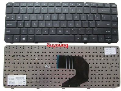 English for HP US Black Keyboard for 246 G1 250 G1 255 G1 430 431 435 450 455 630 image