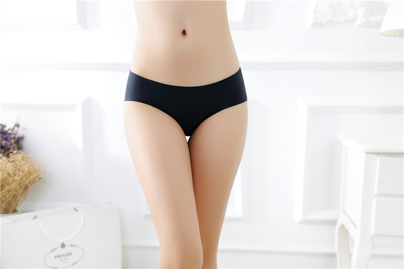 Women's Low Waist Sexy Seamless Breathable Panties 12