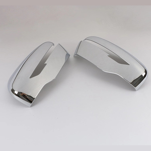 Image 5 - JEAZEA 1 Pair Rear view Mirror Cover Trim Chrome styling Fit For Nissan Qashqai 2019 Auto Accessory