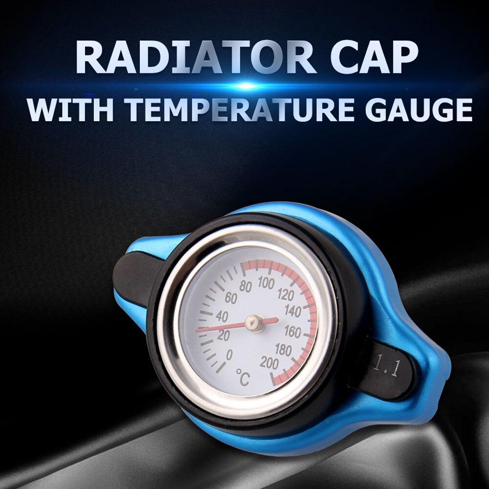 Крышка радиатора для автомобиля мотоцикла температурный измеритель термостатический Датчик Крышка резервуара для воды улучшает производительность охлаждения радиатора|Датчики температуры воды| | АлиЭкспресс